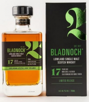 Bladnoch 17 Jahre Californian Red Wine Expression ... 1x 0,7 Ltr.