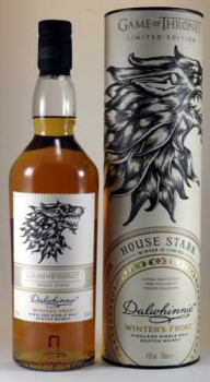 Dalwhinnie Game of Thrones Winter Frost ... 1x 0,7 Ltr.