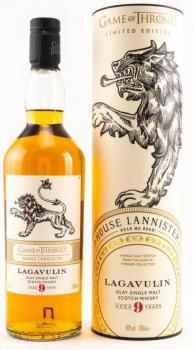 Lagavulin 9 Jahre  - GOT Collection Haus Lannister ... 1x 0,7 Ltr.