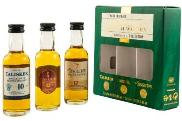 Single Malt Discovery Miniatur Collection ... 1x 0,15 Ltr.