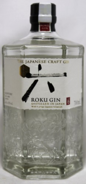 Roku Japanese Craft Gin ... 1x 0,7 Ltr.